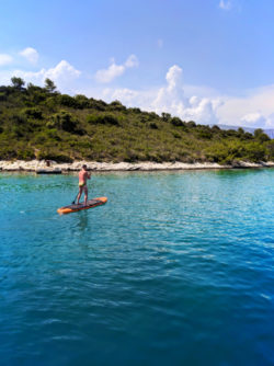 Chris Taylor SUP Pride Sailing Holiday Korcula Croatia 1