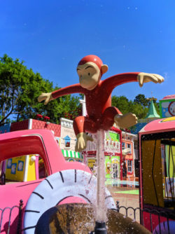 Curious George Waterpark area Universal Studios Florida 2