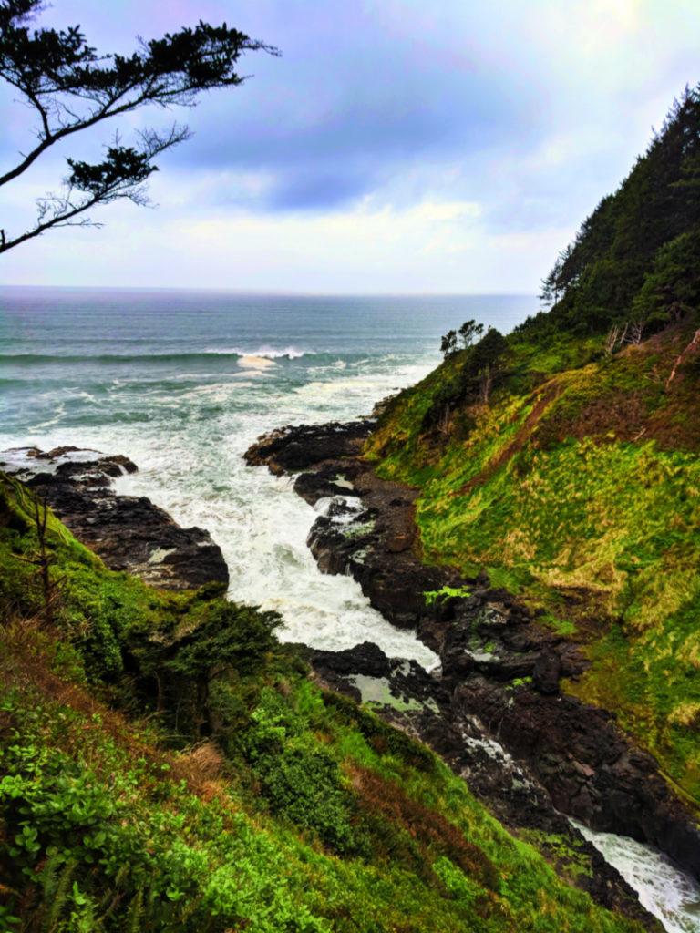 Devils Churn at Cape Perpetua Florence Oregon Coast 1