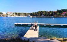 Doing Yoga Sailing Holidays in Milna Brac Croatia 1