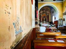 Inside at St Justino Church in Vis Croatia 2