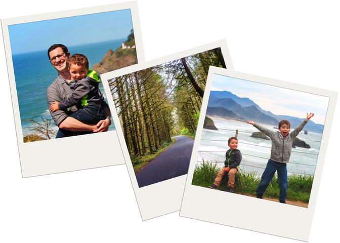 Oregon Coast Road Trip polaroids