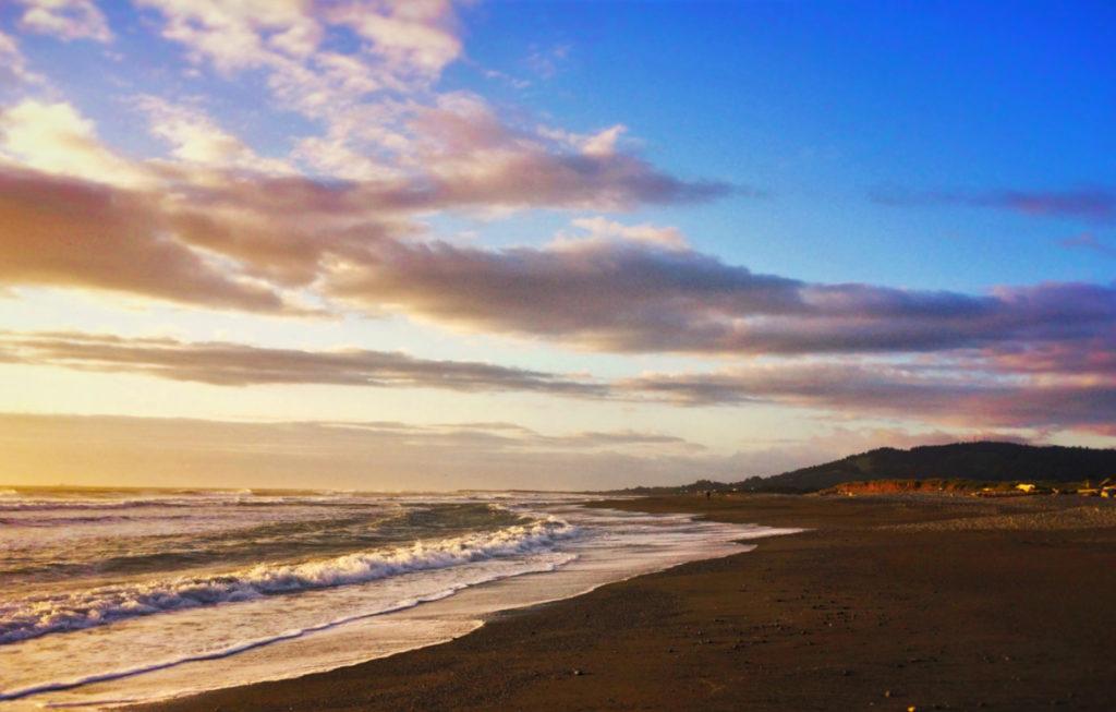 Sunset Gold Beach Oregon Coast 1