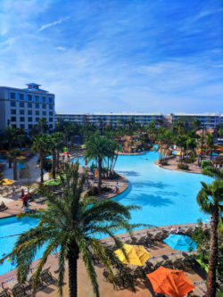 Swimming pool at Universal Orlando Resort Sapphire Falls Hotel 1