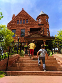 Taylor Family at Capitol Hill Mansion Bed and Breakfast Denver Colorado 1