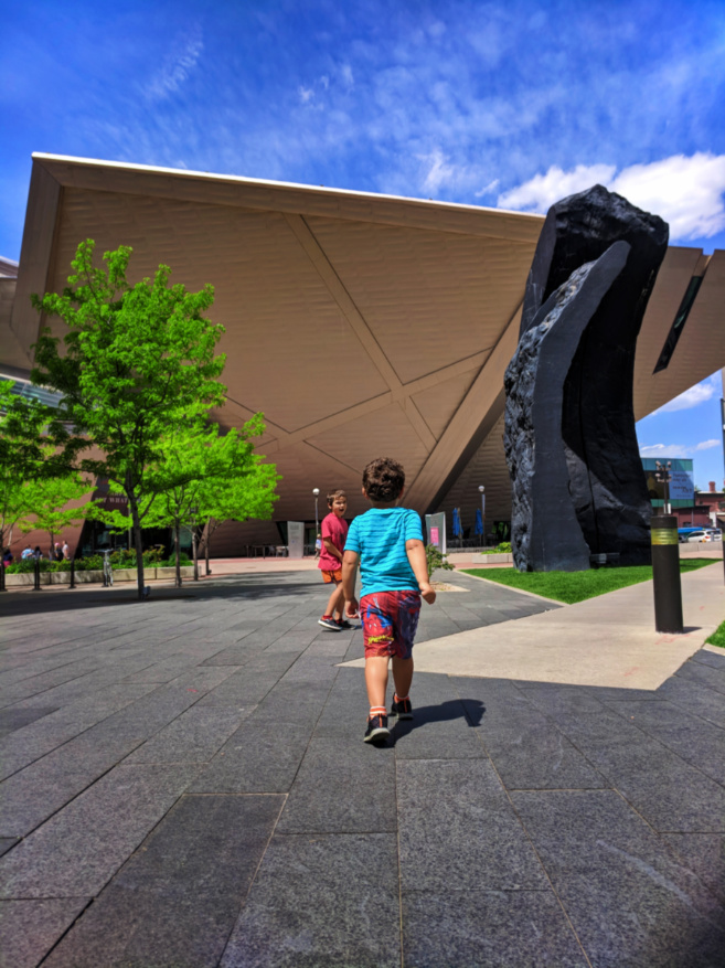 Taylor Family at Denver Art Museum 1