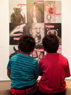 Taylor Family at Denver Art Museum 4