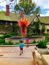 Taylor Family at Denver Botanic Gardens Denver Colorado 5