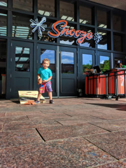 Taylor Family at Snooze AM Eatery Union Station Denver Colorado 1
