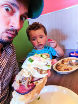 Taylor Family at Snooze AM Eatery Union Station Denver Colorado 2