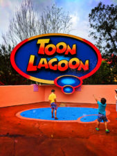 Taylor Family at Toon Lagoon Universal Islands of Adventure Orlando 1