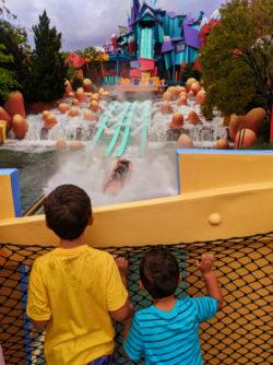 Taylor Family at Toon Lagoon Universal Islands of Adventure Orlando 2