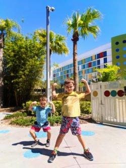 Taylor Family at Universal Cabana Bay Resort Orlando Florida 19