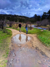 Taylor Family hiking Cub Lake Trail Rocky Mountain National Park Colorado 15