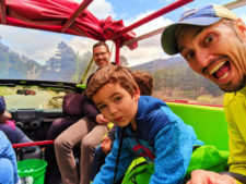 Taylor Family on Green Jeep Tour in Rocky Mountain National Park 1