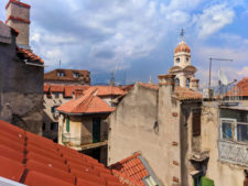 View from AirBNB in Old Town Split Croatia 1
