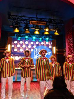 Barbershop Quartet Rap Jimmy Kimmel Universal Studios Florida Orlando 1