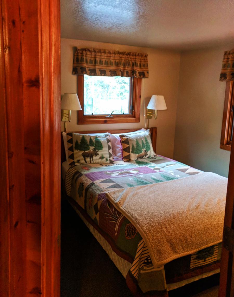 Cabin Interior at McGregor Mountain Lodge Estes Park Colorado 3