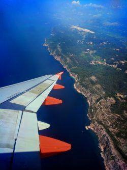 Coast of Croatia from EasyJet Plane 1