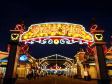 Entrance to Pixar Pier Disneys California Adventure 3
