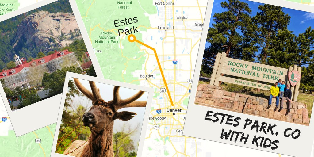 Estes Park With Kids Map 2 Travel Dads
