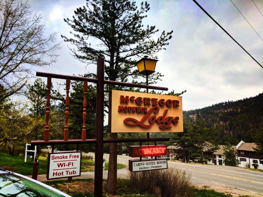Exterior at McGregor Mountain Lodge Estes Park Colorado 4