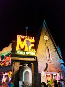 Inside Despicable Me ride at Universal Studios Florida 2