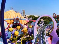 Rails of Seuss Landing Universal Islands of Adventure Orlando 2
