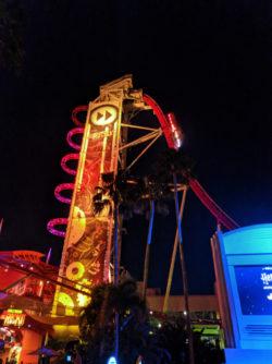 Rocket Rollercoaster Universal Studios Florida Orlando 1