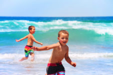 Taylor Family at Mission Beach San Diego California 34