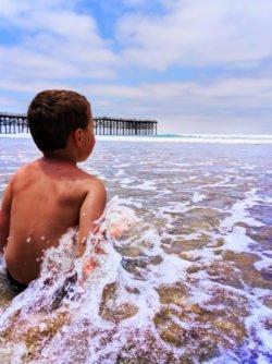 Taylor Family at Pacific Beach Pier San Diego California 3