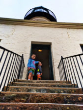 Taylor Family at Point Loma Lighthouse Cabrillo National Monument 2