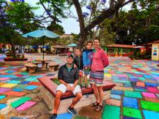 Taylor Family at Spanish Art Village at Balboa Park San Diego California 2