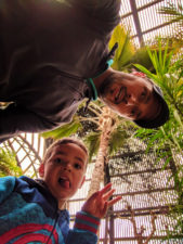 Taylor Family in Balboa Park Conservatory San Diego California 1