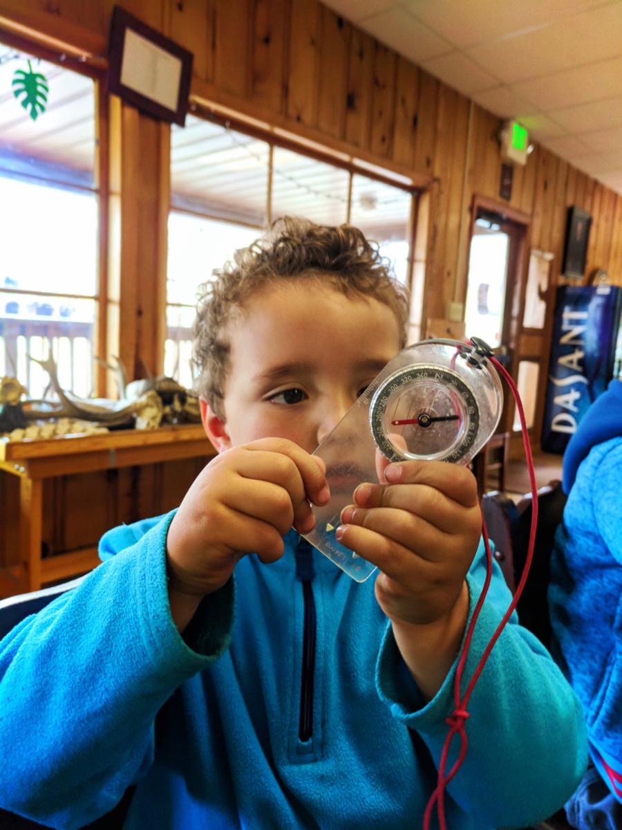 Taylor family at YMCA of the Rockies Outdoor Survival class Estes Park Colorado 12