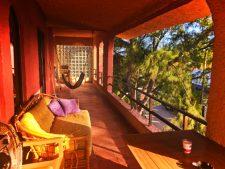 Balcony at NautiBeach Condos Isla Mujeres Quintana Roo Mexico 2