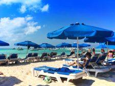 Beach at NautiBeach Condos Isla Mujeres Quintana Roo Mexico 2