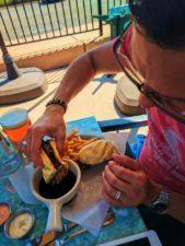 French dip at Willow Restaurant Nipomo Santa Maria Valley 1