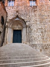 GOT Market steps at Dominican Monastery Old Town Dubrovnik Croatia 2