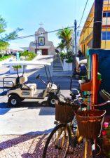 Golf Cardtat church in town Isla Mujeres Quintana Roo Mexico 1