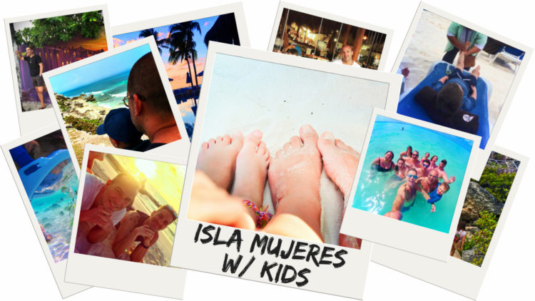 Isla Mujeres with kids is a perfect alternative to a family trip to Cancun. Perfect Caribbean beaches and vibrant Mexican culture make it a wonderful destination for any age. 2traveldads.com