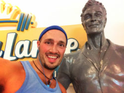 Rob Taylor at Jack Lalane Fitness Center Cabana Bay Resort Universal Orlando Florida 1