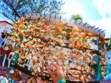 Sea Shell Stand in Isla Mujeres Mexico