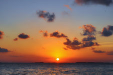 Sunset from Isla Mujeres Quintana Roo Mexico from FIAB 1