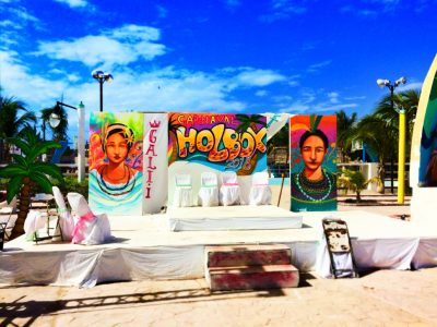 Carnival Celebration in Downtown Holbox Isla Holbox Yucatan 1