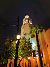Carthay Circle at Night Disneys California Adventure 1