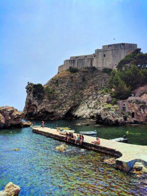 Cove at Fort Lovrijenac Dubrovnik Croatia 4