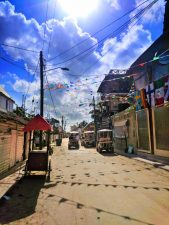 Downtown Holbox dirt roads Isla Holbox Yucatan 3