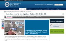 Homeland Security Investigations Tip Line 866 DHS 2 ICE ICE