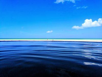 Infinity pool at Villas Flamingos Isla Holbox Yucatan 2